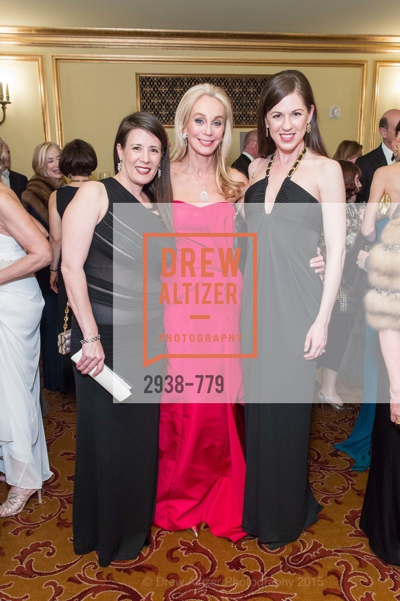 Stephanie Ziesel, Giselle Parry, Kristin Bertrand, San Francisco Ballet 2015 Opening Night Gala, San Francisco City Hall. 1 Dr Carlton B Goodlett Pl, January 22nd, 2015,Drew Altizer, Drew Altizer Photography, full-service agency, private events, San Francisco photographer, photographer california