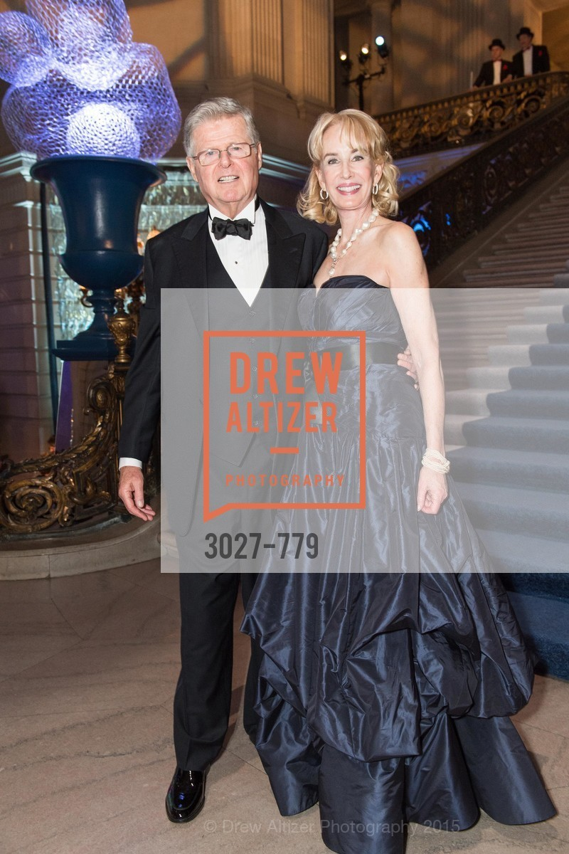 Richard Barker, Mary Keough Lyman, San Francisco Ballet 2015 Opening Night Gala, San Francisco City Hall. 1 Dr Carlton B Goodlett Pl, January 22nd, 2015,Drew Altizer, Drew Altizer Photography, full-service agency, private events, San Francisco photographer, photographer california