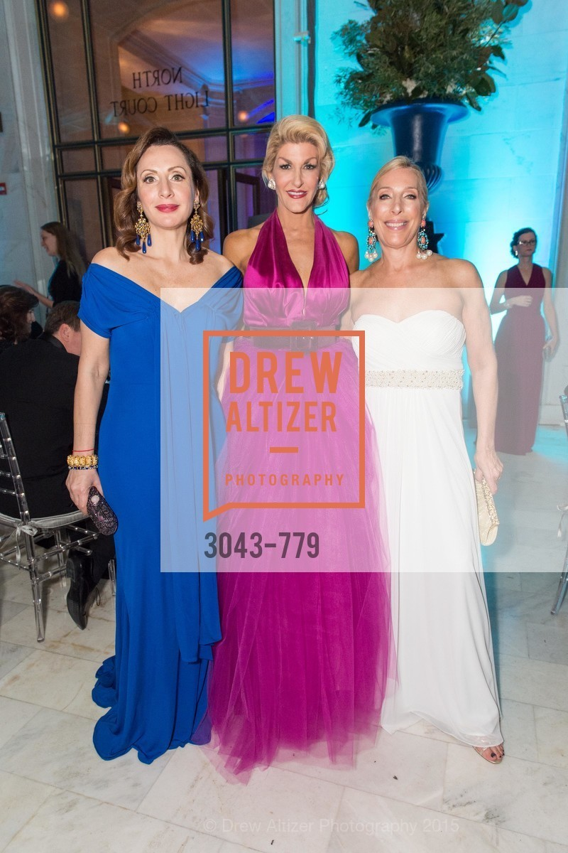 Clara Shayevich, Karen Caldwell, Betsy Linder, San Francisco Ballet 2015 Opening Night Gala, San Francisco City Hall. 1 Dr Carlton B Goodlett Pl, January 22nd, 2015,Drew Altizer, Drew Altizer Photography, full-service event agency, private events, San Francisco photographer, photographer California