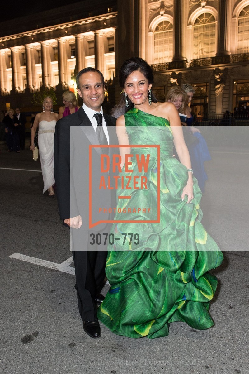 Gaurav Garg, Komal Shah, San Francisco Ballet 2015 Opening Night Gala, San Francisco City Hall. 1 Dr Carlton B Goodlett Pl, January 22nd, 2015,Drew Altizer, Drew Altizer Photography, full-service agency, private events, San Francisco photographer, photographer california