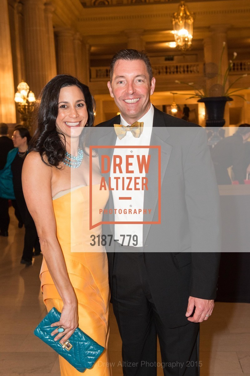 Donna Hoghooghi, Ted Bartlett, San Francisco Ballet 2015 Opening Night Gala, San Francisco City Hall. 1 Dr Carlton B Goodlett Pl, January 22nd, 2015,Drew Altizer, Drew Altizer Photography, full-service agency, private events, San Francisco photographer, photographer california