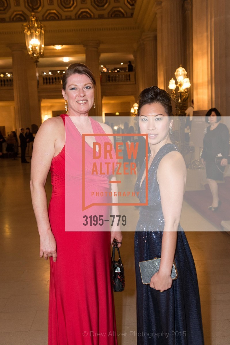Tracy Freeman, Becky Trine, San Francisco Ballet 2015 Opening Night Gala, San Francisco City Hall. 1 Dr Carlton B Goodlett Pl, January 22nd, 2015,Drew Altizer, Drew Altizer Photography, full-service agency, private events, San Francisco photographer, photographer california