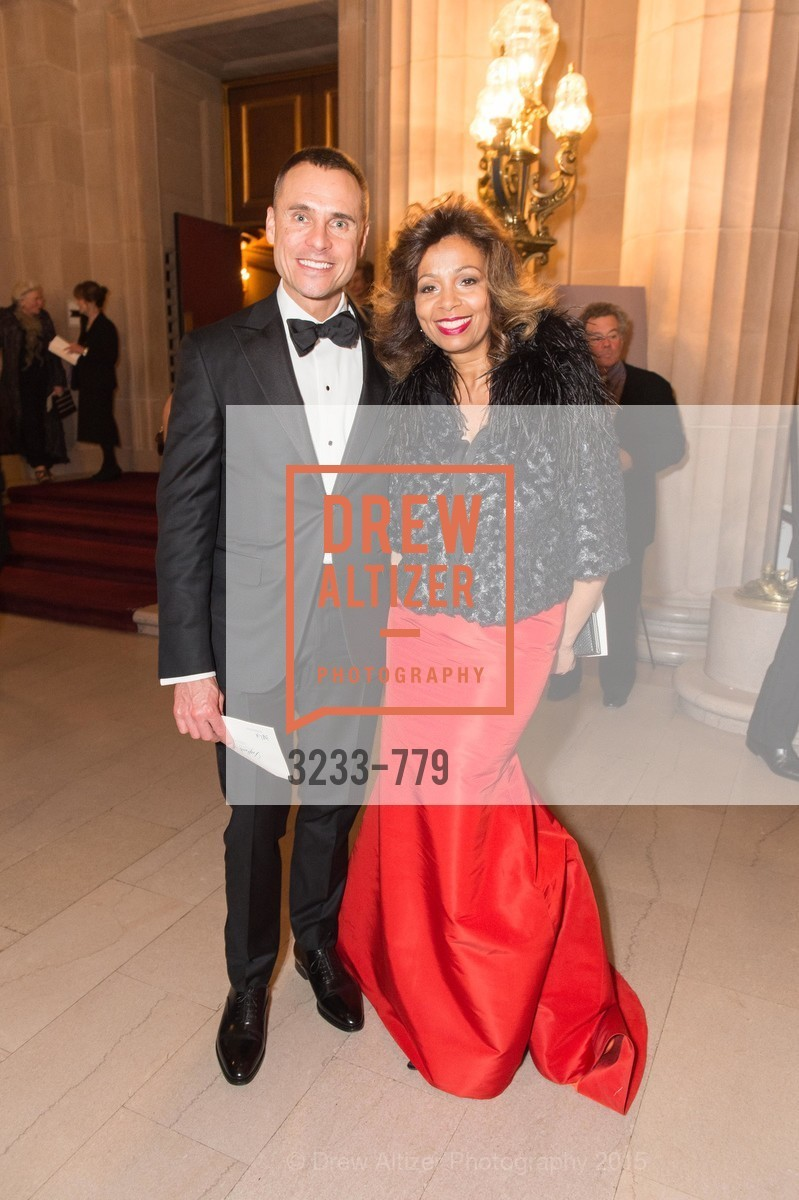 Jeff Garelick, Cheree Chambers, San Francisco Ballet 2015 Opening Night Gala, San Francisco City Hall. 1 Dr Carlton B Goodlett Pl, January 22nd, 2015,Drew Altizer, Drew Altizer Photography, full-service agency, private events, San Francisco photographer, photographer california