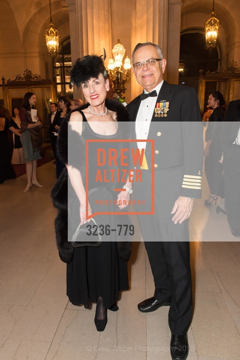 Gail Bradley, Allen Hugenot, San Francisco Ballet 2015 Opening Night Gala, San Francisco City Hall. 1 Dr Carlton B Goodlett Pl, January 22nd, 2015,Drew Altizer, Drew Altizer Photography, full-service agency, private events, San Francisco photographer, photographer california