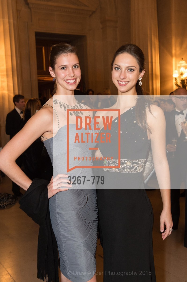 Anica Bottom, Andie Bartol, San Francisco Ballet 2015 Opening Night Gala, San Francisco City Hall. 1 Dr Carlton B Goodlett Pl, January 22nd, 2015,Drew Altizer, Drew Altizer Photography, full-service agency, private events, San Francisco photographer, photographer california
