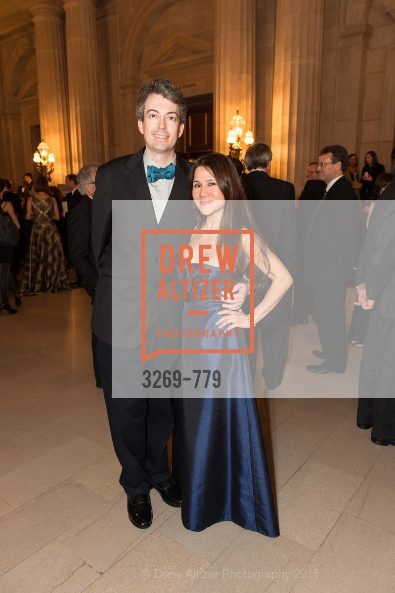Kevin Lye, Judy Pham, San Francisco Ballet 2015 Opening Night Gala, San Francisco City Hall. 1 Dr Carlton B Goodlett Pl, January 22nd, 2015