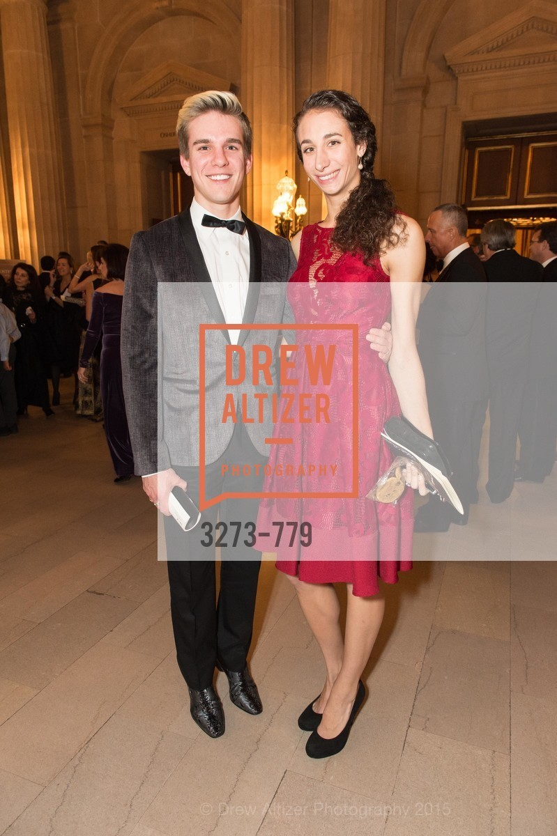Joseph Atkins, Ilaria Guerra, San Francisco Ballet 2015 Opening Night Gala, San Francisco City Hall. 1 Dr Carlton B Goodlett Pl, January 22nd, 2015,Drew Altizer, Drew Altizer Photography, full-service agency, private events, San Francisco photographer, photographer california