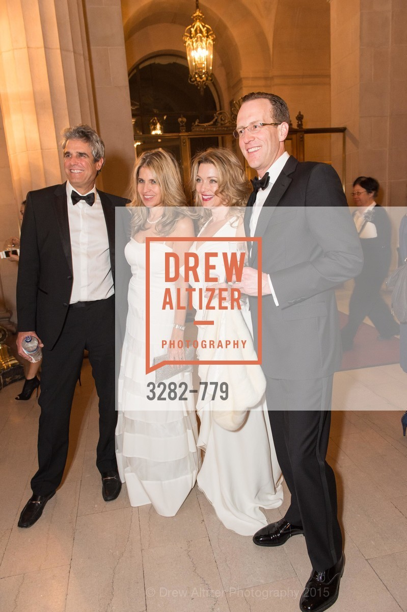 Lloyd Klein, Kathy Sabo, Pam Davis, Justin Cooper, San Francisco Ballet 2015 Opening Night Gala, San Francisco City Hall. 1 Dr Carlton B Goodlett Pl, January 22nd, 2015,Drew Altizer, Drew Altizer Photography, full-service agency, private events, San Francisco photographer, photographer california