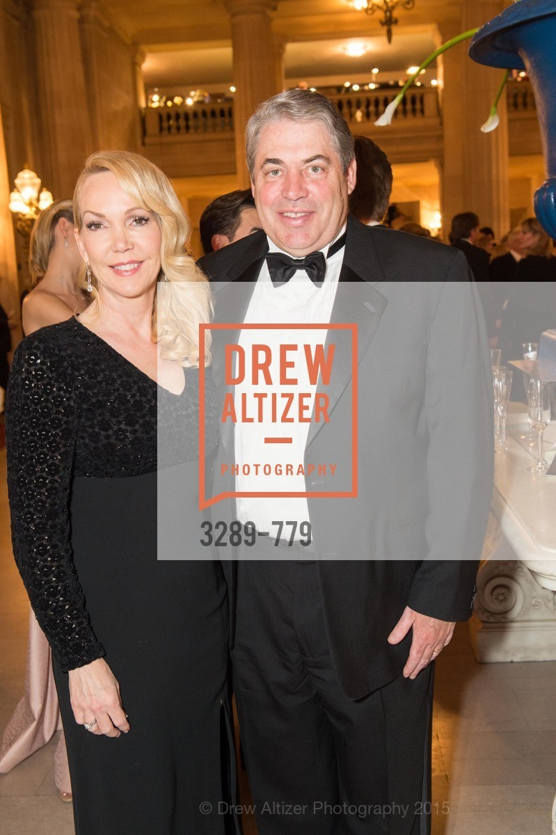 Mary Christiansen, David Christiansen, San Francisco Ballet 2015 Opening Night Gala, San Francisco City Hall. 1 Dr Carlton B Goodlett Pl, January 22nd, 2015,Drew Altizer, Drew Altizer Photography, full-service agency, private events, San Francisco photographer, photographer california