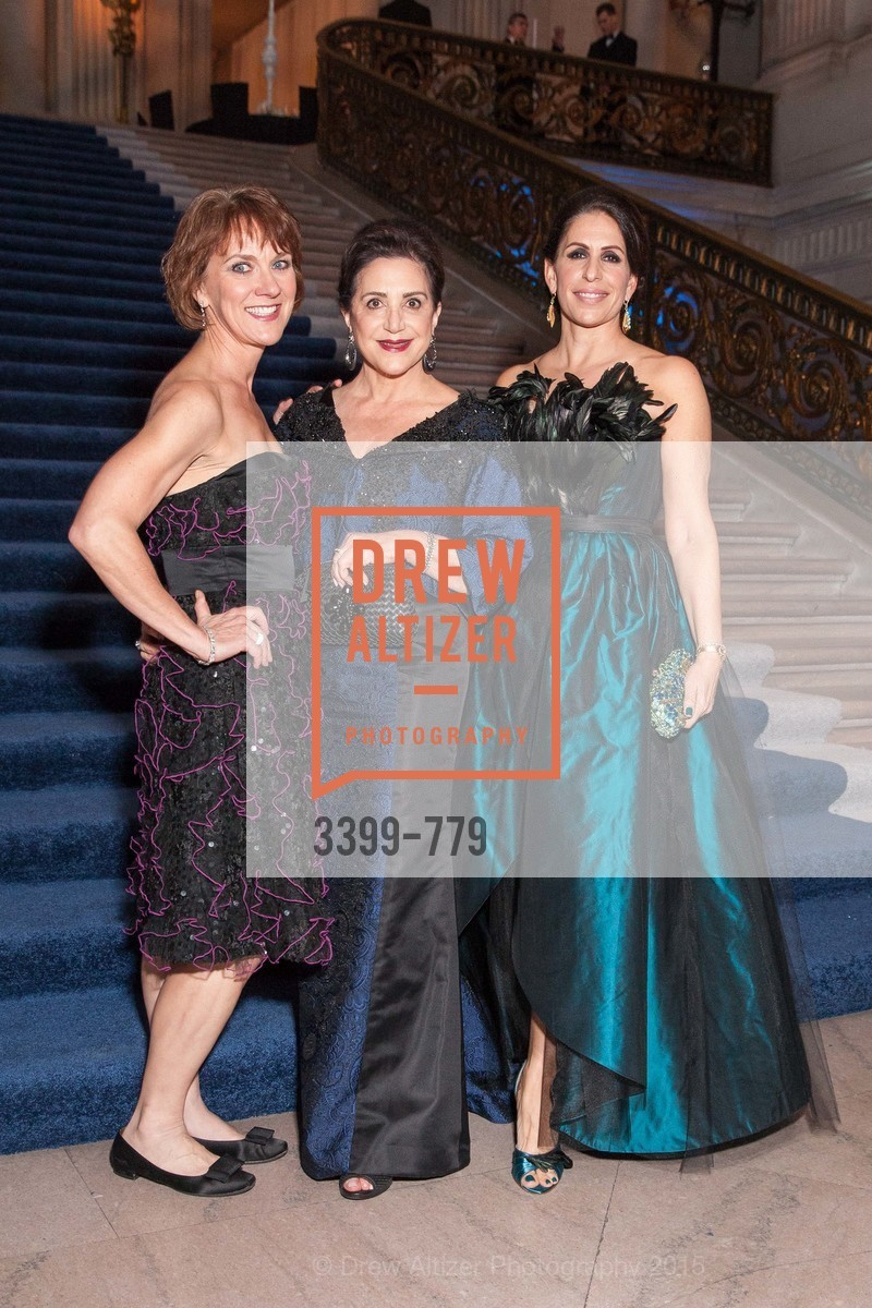 Lee Gregory, Lily Samii, Lisa Grotts, San Francisco Ballet 2015 Opening Night Gala, San Francisco City Hall. 1 Dr Carlton B Goodlett Pl, January 22nd, 2015,Drew Altizer, Drew Altizer Photography, full-service agency, private events, San Francisco photographer, photographer california