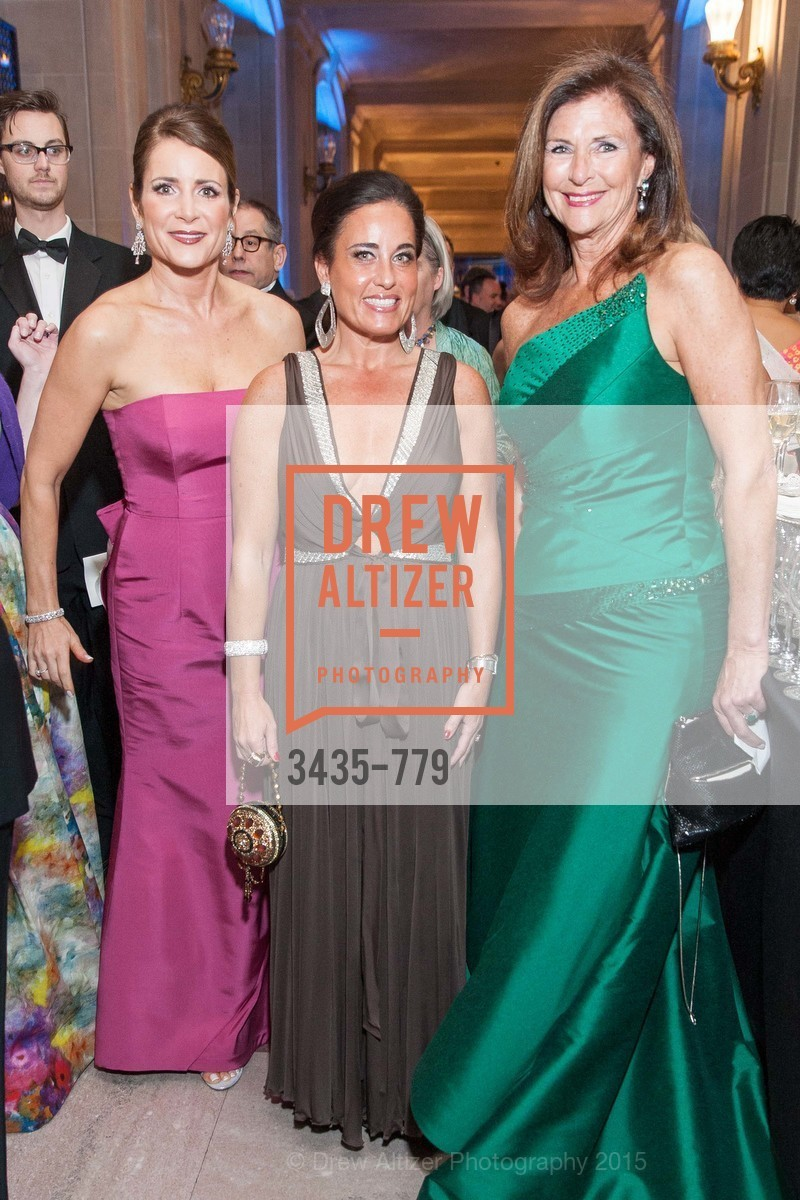 Michelle Ritchie, Natalie Urrutia, Linda Zider, San Francisco Ballet 2015 Opening Night Gala, San Francisco City Hall. 1 Dr Carlton B Goodlett Pl, January 22nd, 2015,Drew Altizer, Drew Altizer Photography, full-service agency, private events, San Francisco photographer, photographer california