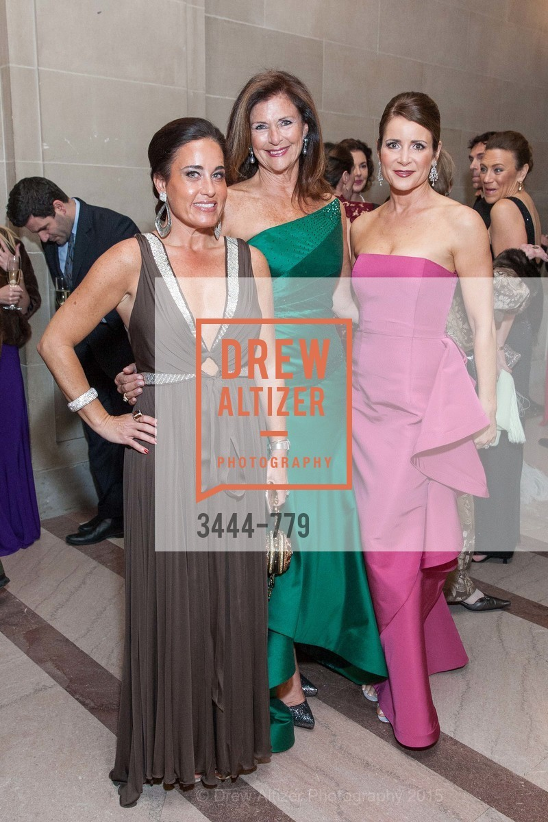 Natalia Urrutia, Linda Zider, Michelle Ritchie, San Francisco Ballet 2015 Opening Night Gala, San Francisco City Hall. 1 Dr Carlton B Goodlett Pl, January 22nd, 2015,Drew Altizer, Drew Altizer Photography, full-service agency, private events, San Francisco photographer, photographer california
