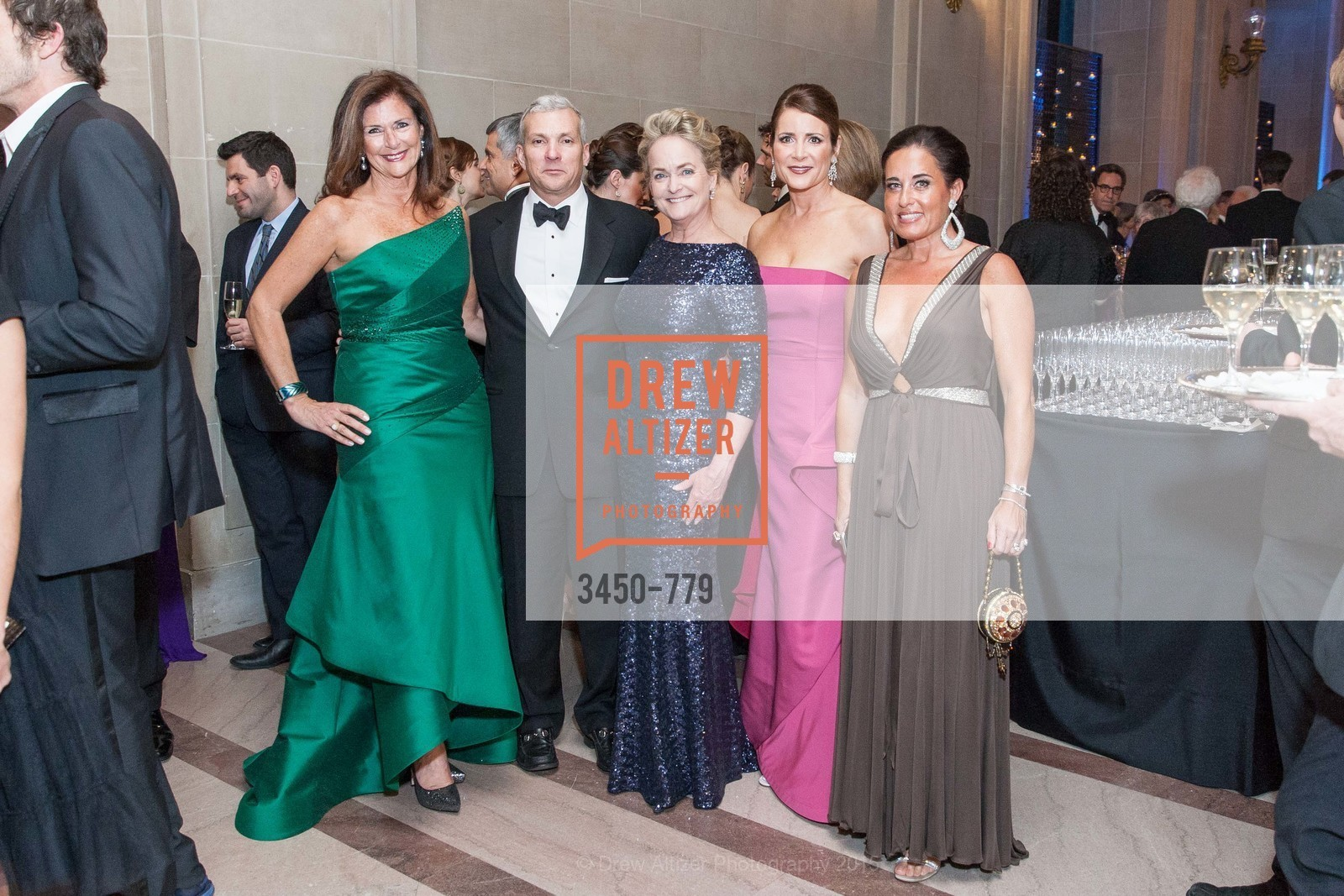Linda Zider, Nigel Sutton, Shelby Strudwick, Michelle Ritchie, Natalia Urrutia, San Francisco Ballet 2015 Opening Night Gala, San Francisco City Hall. 1 Dr Carlton B Goodlett Pl, January 22nd, 2015,Drew Altizer, Drew Altizer Photography, full-service agency, private events, San Francisco photographer, photographer california