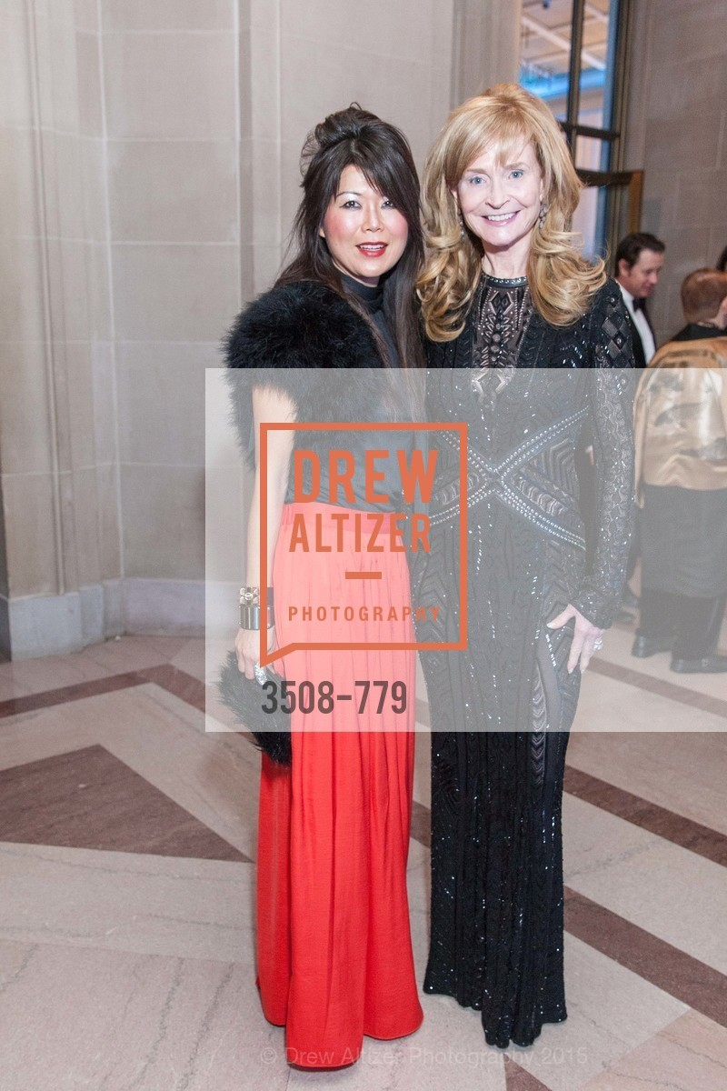 Moon Yi, Libby Taylor, San Francisco Ballet 2015 Opening Night Gala, San Francisco City Hall. 1 Dr Carlton B Goodlett Pl, January 22nd, 2015,Drew Altizer, Drew Altizer Photography, full-service agency, private events, San Francisco photographer, photographer california
