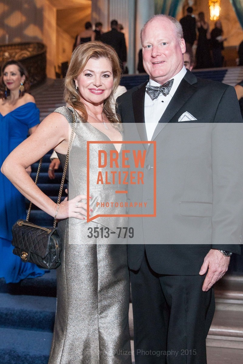 Lizabeth Hill, Kurt Henke, San Francisco Ballet 2015 Opening Night Gala, San Francisco City Hall. 1 Dr Carlton B Goodlett Pl, January 22nd, 2015,Drew Altizer, Drew Altizer Photography, full-service agency, private events, San Francisco photographer, photographer california