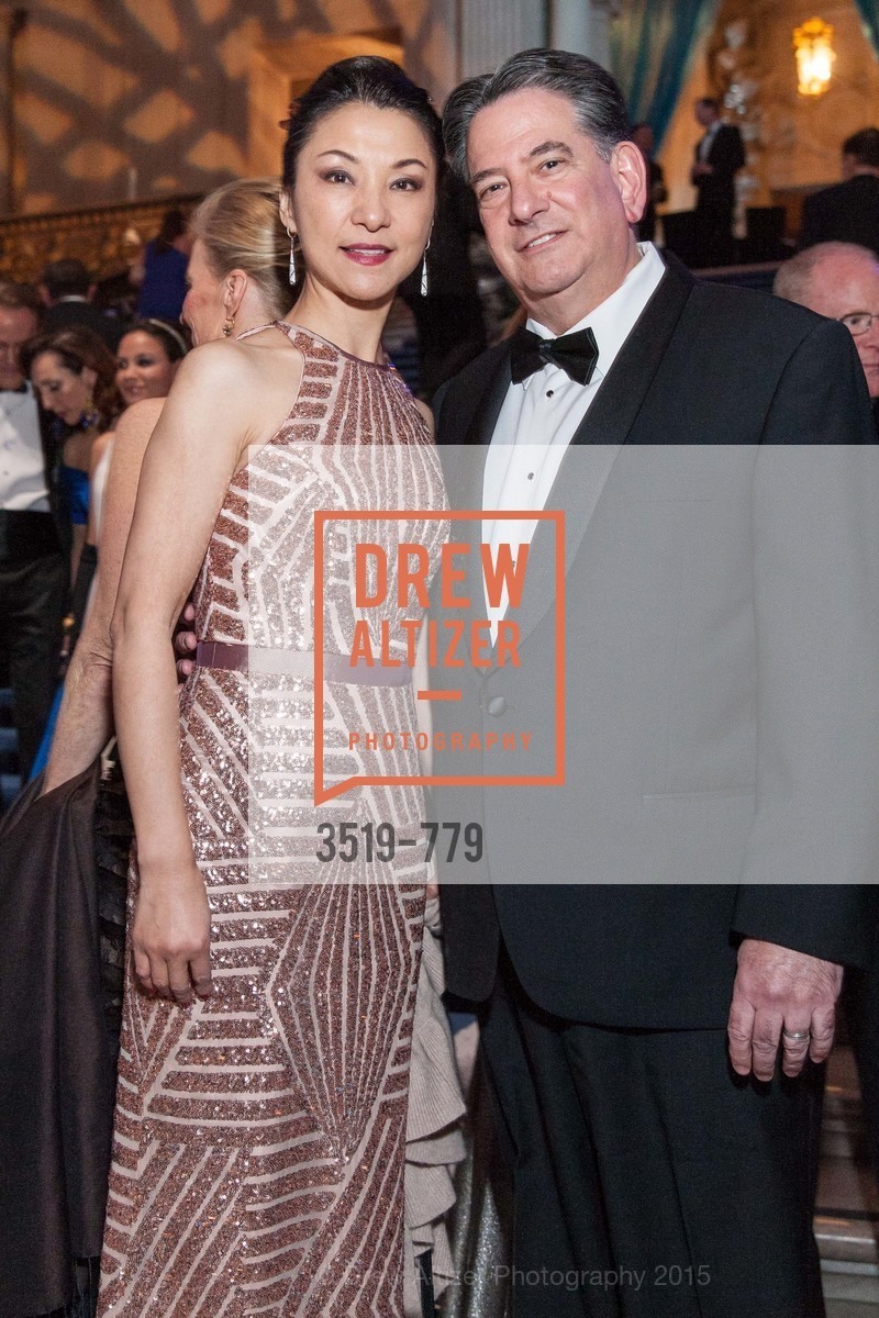 Xiaopei Gelb, Andrew Gelb, San Francisco Ballet 2015 Opening Night Gala, San Francisco City Hall. 1 Dr Carlton B Goodlett Pl, January 22nd, 2015,Drew Altizer, Drew Altizer Photography, full-service agency, private events, San Francisco photographer, photographer california