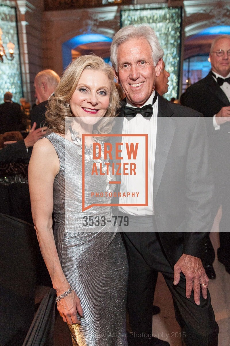 Patti Rock, John Fetzer, San Francisco Ballet 2015 Opening Night Gala, San Francisco City Hall. 1 Dr Carlton B Goodlett Pl, January 22nd, 2015,Drew Altizer, Drew Altizer Photography, full-service agency, private events, San Francisco photographer, photographer california