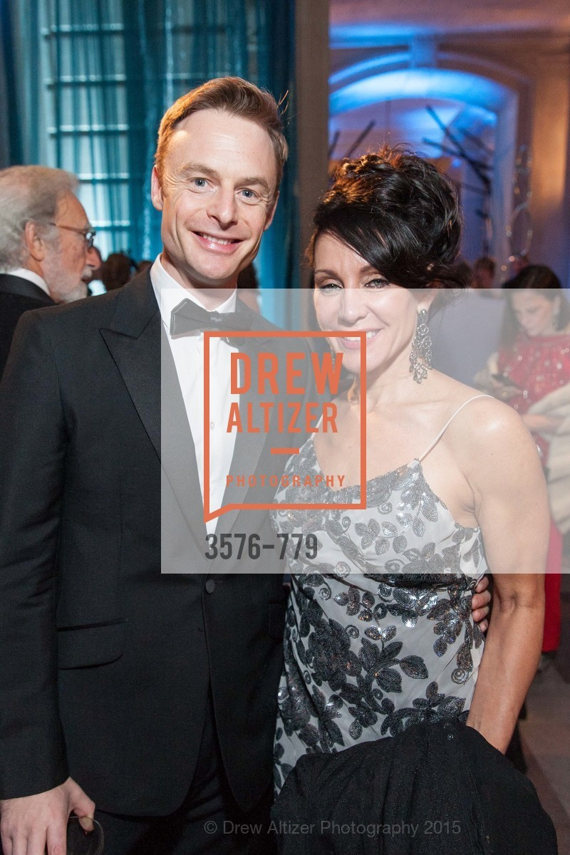 Christopher Wheeldon, Deborah Taylor, San Francisco Ballet 2015 Opening Night Gala, San Francisco City Hall. 1 Dr Carlton B Goodlett Pl, January 22nd, 2015,Drew Altizer, Drew Altizer Photography, full-service agency, private events, San Francisco photographer, photographer california