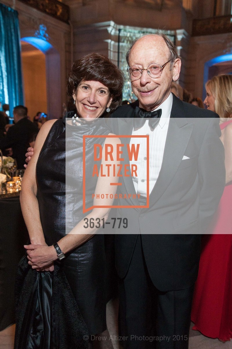 Laura Lauder, Bernard Osher, San Francisco Ballet 2015 Opening Night Gala, San Francisco City Hall. 1 Dr Carlton B Goodlett Pl, January 22nd, 2015,Drew Altizer, Drew Altizer Photography, full-service agency, private events, San Francisco photographer, photographer california