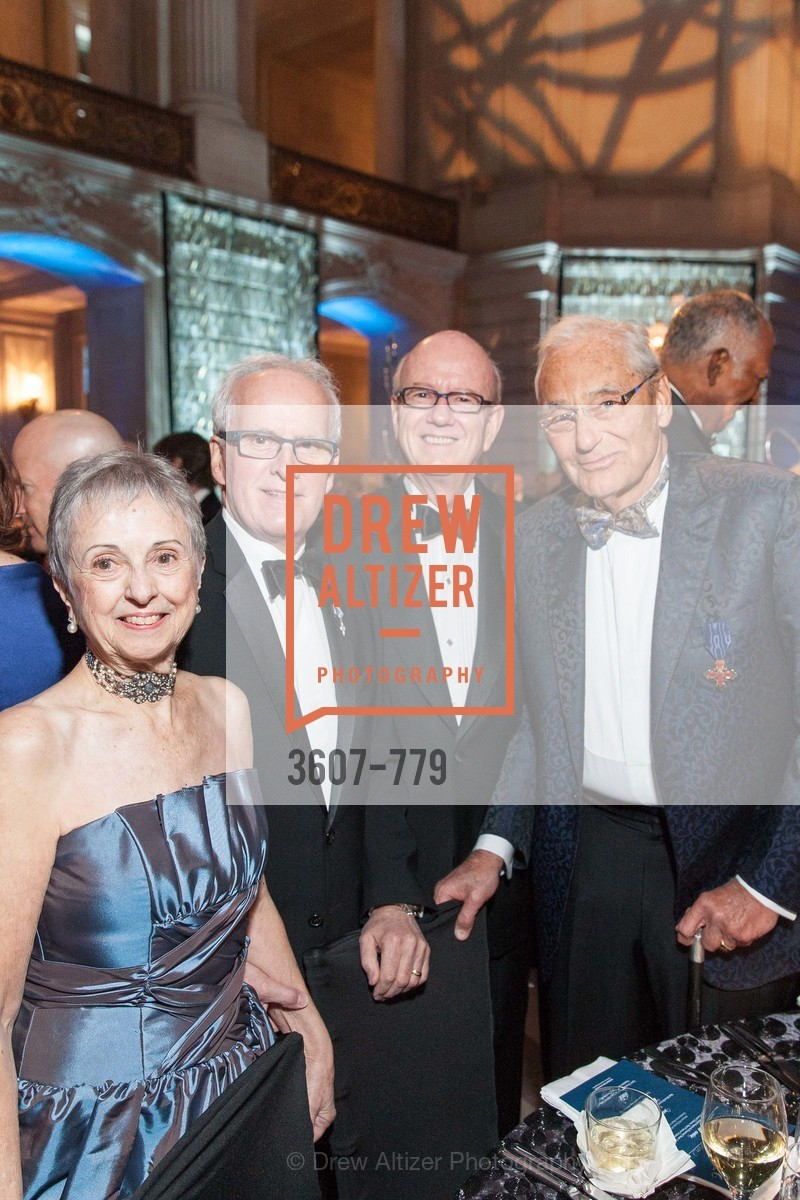 Marlene Tomasson, Helgi Tomasson, Tom Horn, Tom Perkins, San Francisco Ballet 2015 Opening Night Gala, San Francisco City Hall. 1 Dr Carlton B Goodlett Pl, January 22nd, 2015,Drew Altizer, Drew Altizer Photography, full-service agency, private events, San Francisco photographer, photographer california