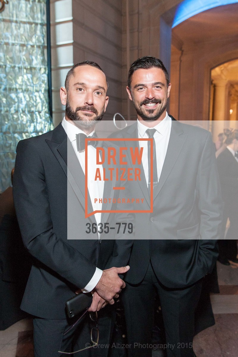 Damian Smith, John Gidding, San Francisco Ballet 2015 Opening Night Gala, San Francisco City Hall. 1 Dr Carlton B Goodlett Pl, January 22nd, 2015,Drew Altizer, Drew Altizer Photography, full-service agency, private events, San Francisco photographer, photographer california