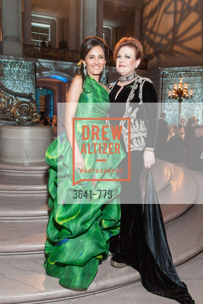 Komal Shah, Jennifer Raiser, San Francisco Ballet 2015 Opening Night Gala, San Francisco City Hall. 1 Dr Carlton B Goodlett Pl, January 22nd, 2015,Drew Altizer, Drew Altizer Photography, full-service event agency, private events, San Francisco photographer, photographer California