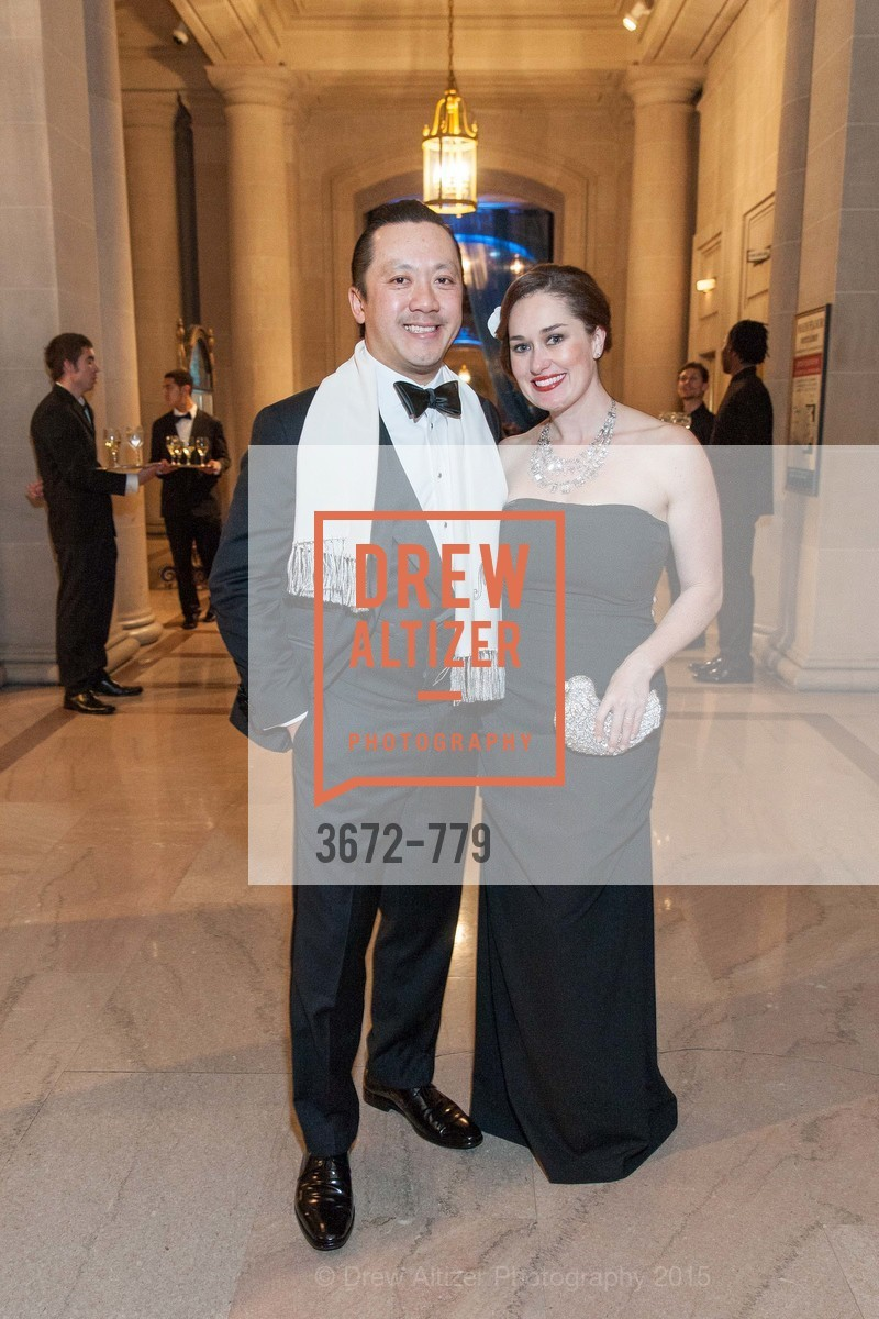 Mike Nguyen, Bridget Dixon Nguyen, San Francisco Ballet 2015 Opening Night Gala, San Francisco City Hall. 1 Dr Carlton B Goodlett Pl, January 22nd, 2015,Drew Altizer, Drew Altizer Photography, full-service agency, private events, San Francisco photographer, photographer california