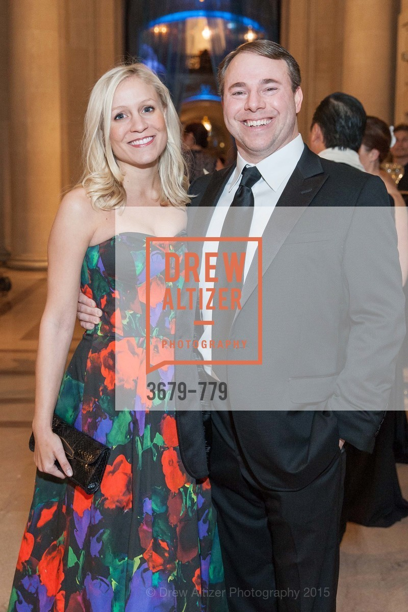 Emily Millman, Michael Millman, San Francisco Ballet 2015 Opening Night Gala, San Francisco City Hall. 1 Dr Carlton B Goodlett Pl, January 22nd, 2015,Drew Altizer, Drew Altizer Photography, full-service agency, private events, San Francisco photographer, photographer california