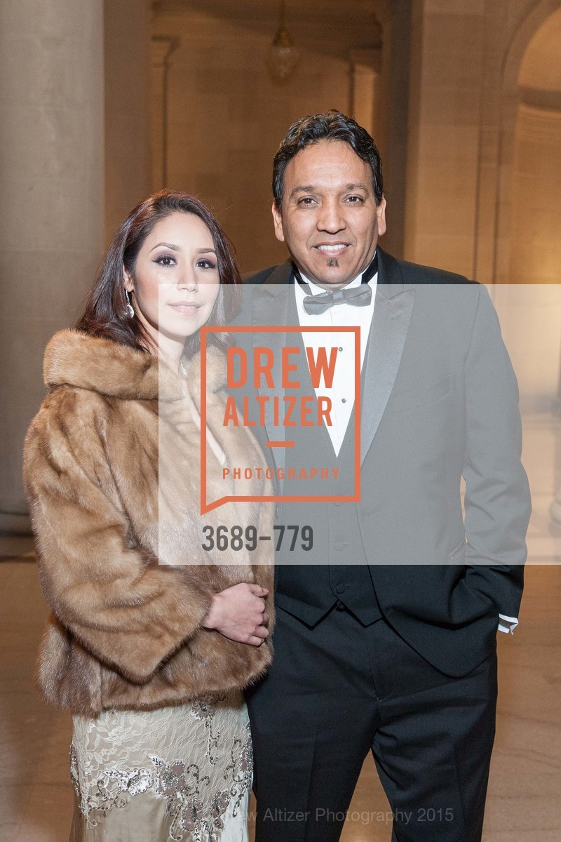 Maria Silva, Art Lucero, San Francisco Ballet 2015 Opening Night Gala, San Francisco City Hall. 1 Dr Carlton B Goodlett Pl, January 22nd, 2015,Drew Altizer, Drew Altizer Photography, full-service agency, private events, San Francisco photographer, photographer california
