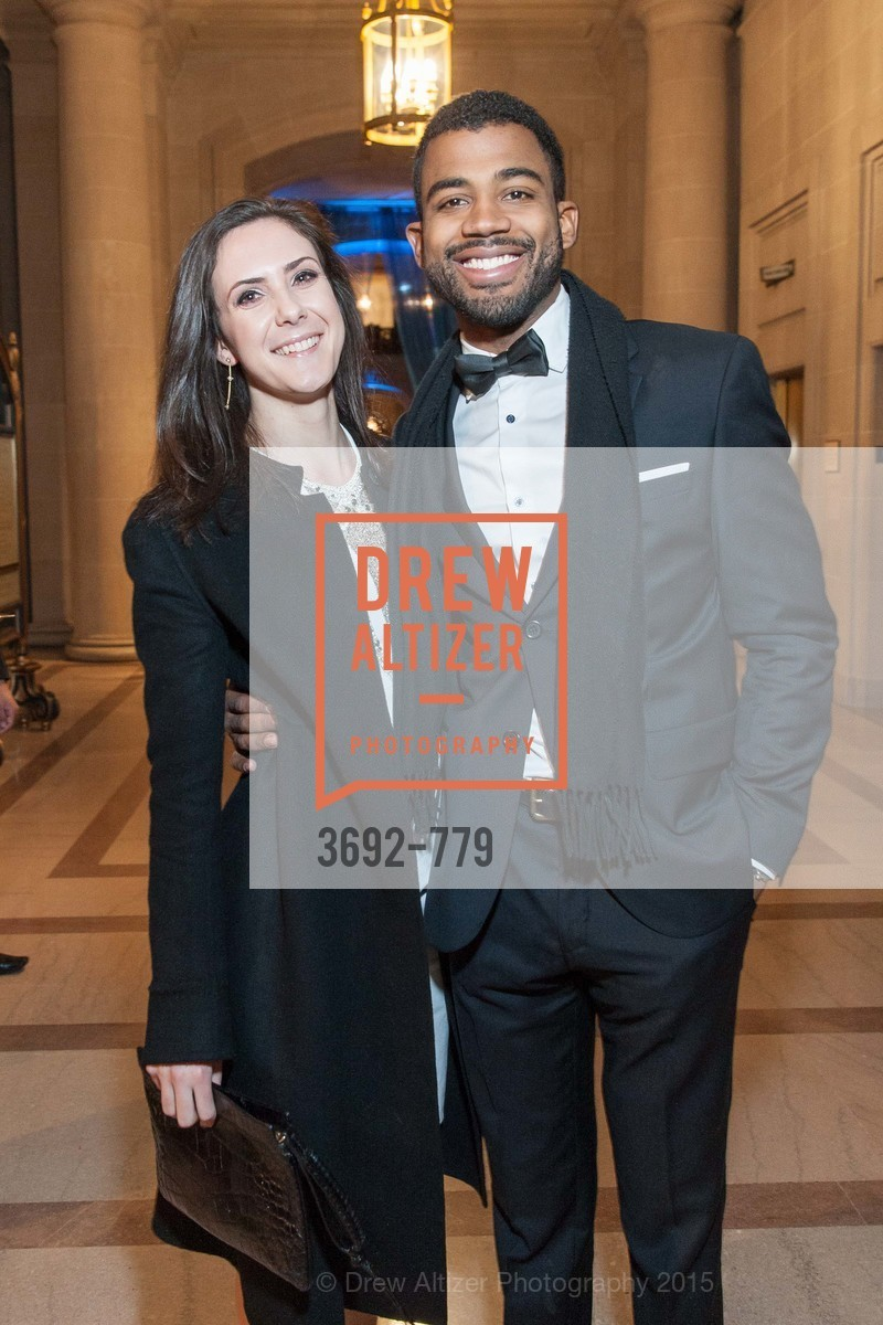 Ariane Fisher, Maxwell Hawes, San Francisco Ballet 2015 Opening Night Gala, San Francisco City Hall. 1 Dr Carlton B Goodlett Pl, January 22nd, 2015,Drew Altizer, Drew Altizer Photography, full-service agency, private events, San Francisco photographer, photographer california