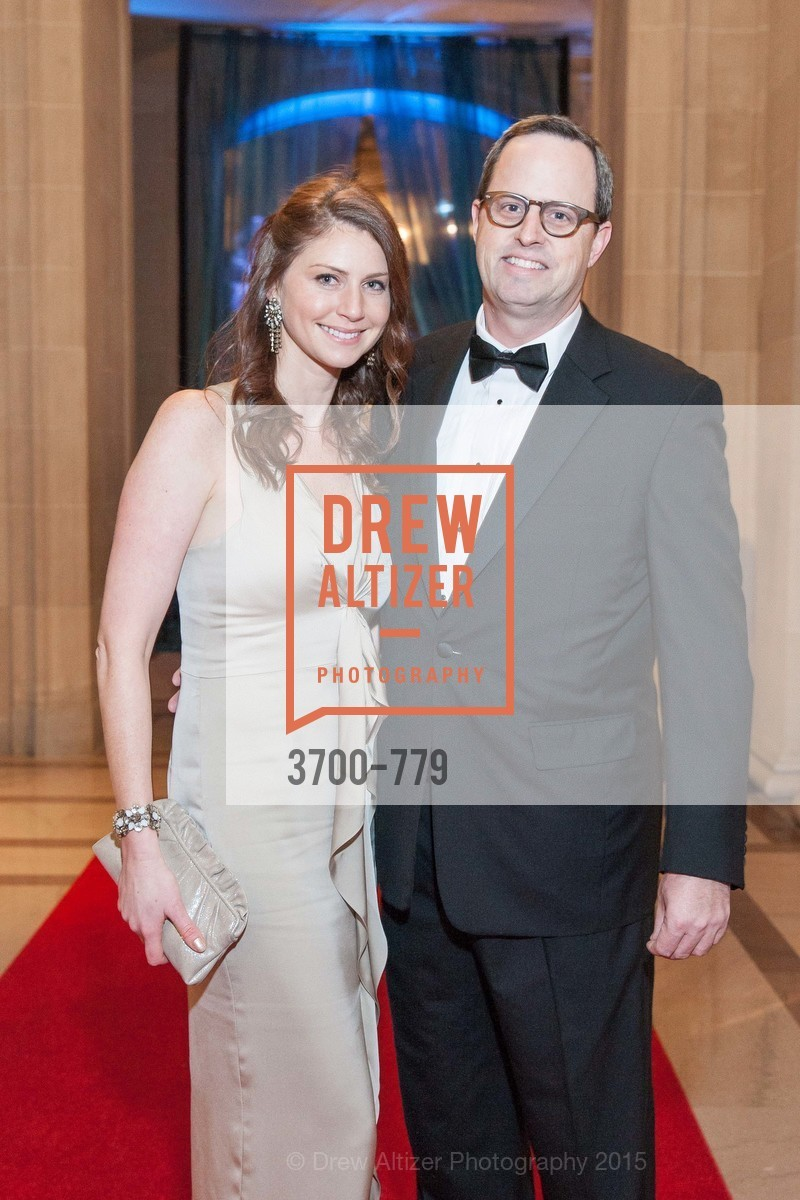 Rose Kelly, Justin Bank, San Francisco Ballet 2015 Opening Night Gala, San Francisco City Hall. 1 Dr Carlton B Goodlett Pl, January 22nd, 2015,Drew Altizer, Drew Altizer Photography, full-service agency, private events, San Francisco photographer, photographer california
