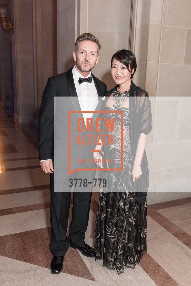 Bjornsson, Carrie Lerner, San Francisco Ballet 2015 Opening Night Gala, San Francisco City Hall. 1 Dr Carlton B Goodlett Pl, January 22nd, 2015,Drew Altizer, Drew Altizer Photography, full-service agency, private events, San Francisco photographer, photographer california