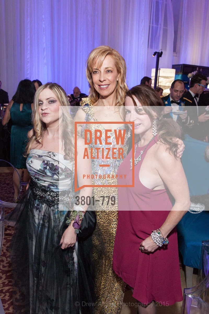 Julie Hall, Graciela Cochran, Adrienne Krug, San Francisco Ballet 2015 Opening Night Gala, San Francisco City Hall. 1 Dr Carlton B Goodlett Pl, January 22nd, 2015,Drew Altizer, Drew Altizer Photography, full-service agency, private events, San Francisco photographer, photographer california