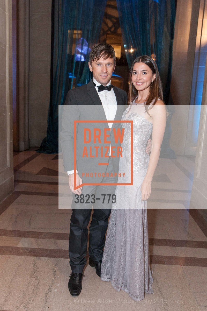 Ivan Moskvichev, Elena Moskvichev, San Francisco Ballet 2015 Opening Night Gala, San Francisco City Hall. 1 Dr Carlton B Goodlett Pl, January 22nd, 2015,Drew Altizer, Drew Altizer Photography, full-service agency, private events, San Francisco photographer, photographer california