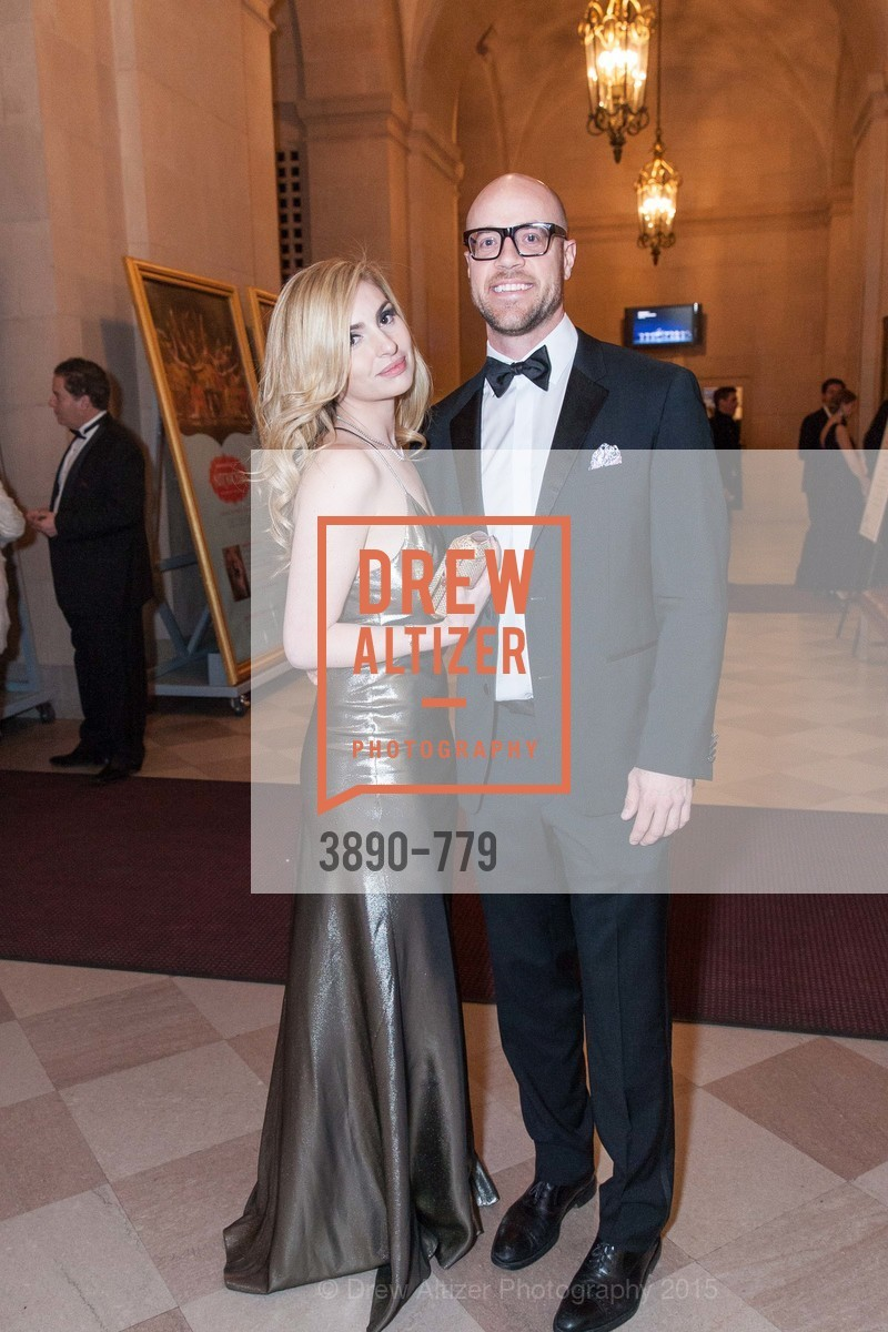 Olivia Mirzoyev, John Kobs, San Francisco Ballet 2015 Opening Night Gala, San Francisco City Hall. 1 Dr Carlton B Goodlett Pl, January 22nd, 2015,Drew Altizer, Drew Altizer Photography, full-service agency, private events, San Francisco photographer, photographer california