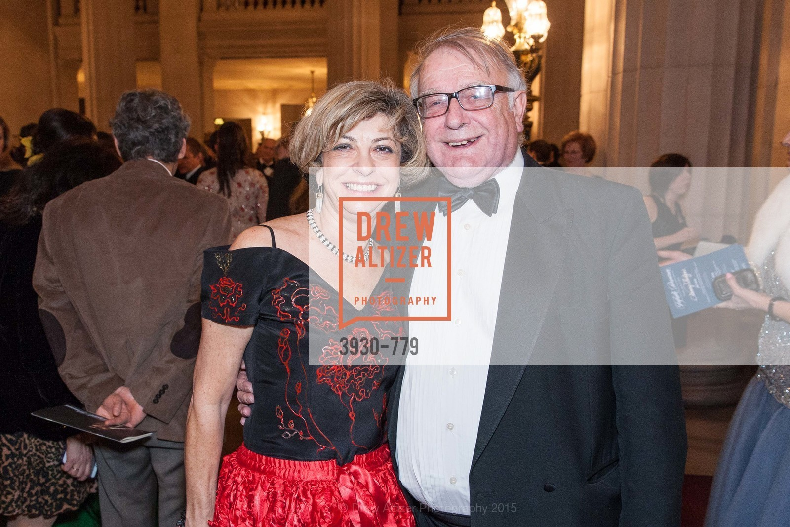 Ludmila Eggleton, Peter Eggleton, San Francisco Ballet 2015 Opening Night Gala, San Francisco City Hall. 1 Dr Carlton B Goodlett Pl, January 22nd, 2015,Drew Altizer, Drew Altizer Photography, full-service agency, private events, San Francisco photographer, photographer california