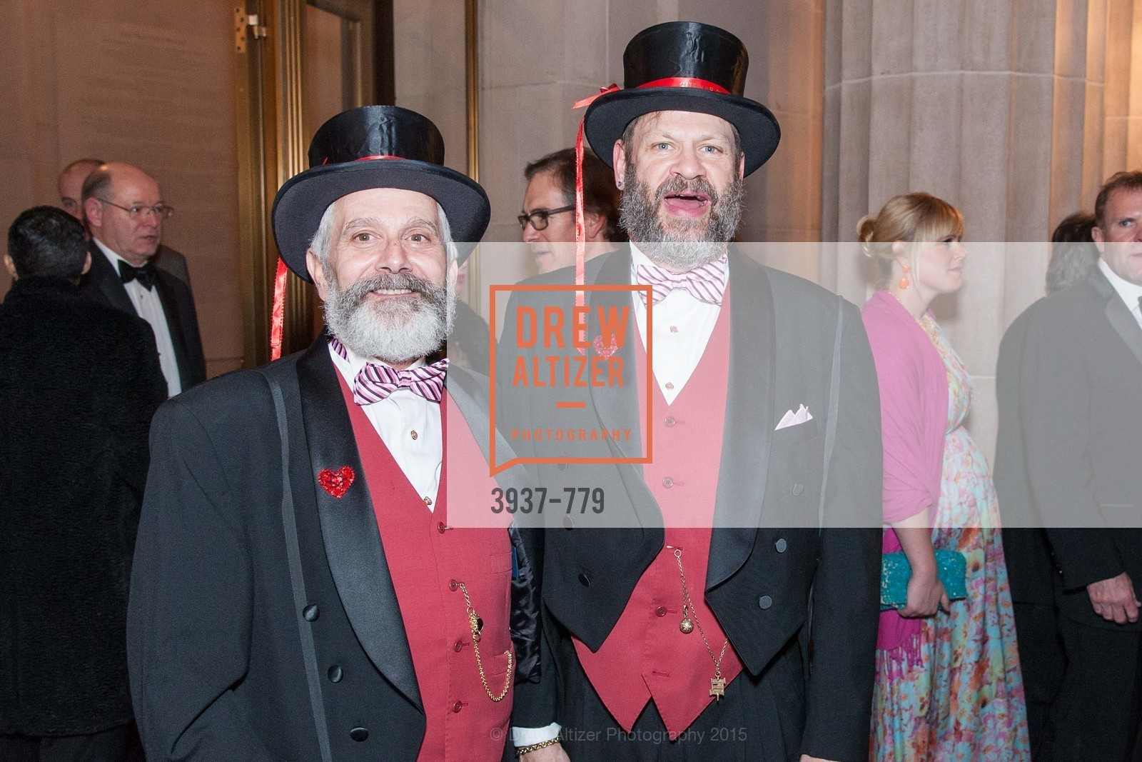 Randy Laroche, David Laudon, San Francisco Ballet 2015 Opening Night Gala, San Francisco City Hall. 1 Dr Carlton B Goodlett Pl, January 22nd, 2015,Drew Altizer, Drew Altizer Photography, full-service agency, private events, San Francisco photographer, photographer california