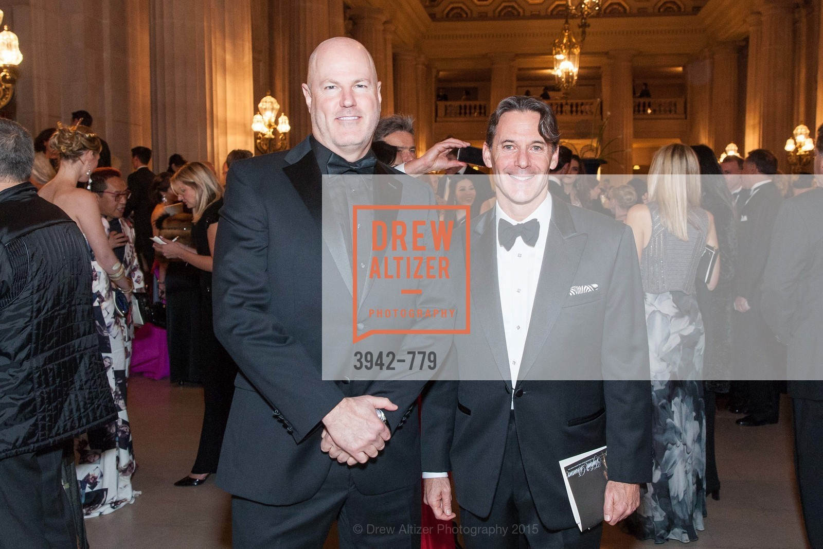 Scott Watenpaugh, John Hopkins, San Francisco Ballet 2015 Opening Night Gala, San Francisco City Hall. 1 Dr Carlton B Goodlett Pl, January 22nd, 2015,Drew Altizer, Drew Altizer Photography, full-service agency, private events, San Francisco photographer, photographer california
