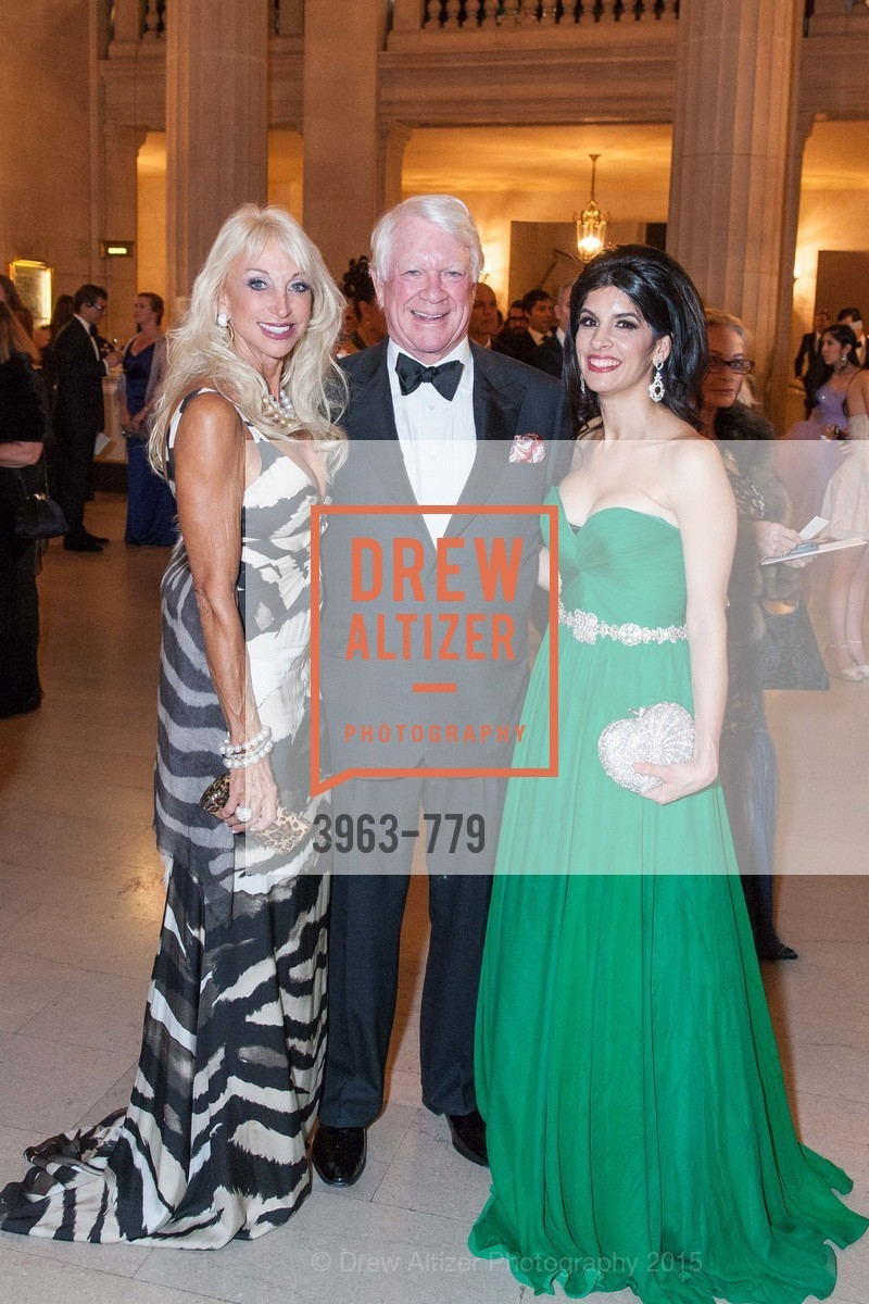 Daru Kawalkowski, Alton Irby, Veronica Rivas-Tramontozzi, San Francisco Ballet 2015 Opening Night Gala, San Francisco City Hall. 1 Dr Carlton B Goodlett Pl, January 22nd, 2015,Drew Altizer, Drew Altizer Photography, full-service agency, private events, San Francisco photographer, photographer california