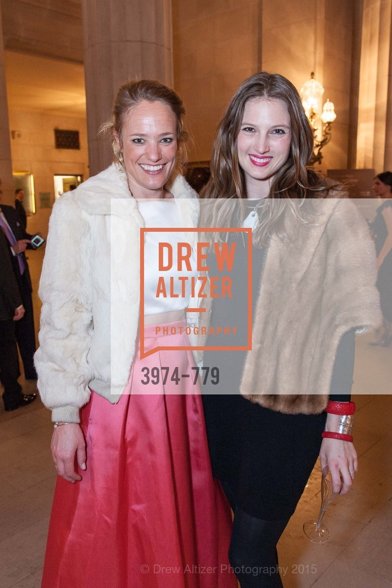 Isabelle DeClercq, Gwennie Wittlinger, San Francisco Ballet 2015 Opening Night Gala, San Francisco City Hall. 1 Dr Carlton B Goodlett Pl, January 22nd, 2015,Drew Altizer, Drew Altizer Photography, full-service event agency, private events, San Francisco photographer, photographer California