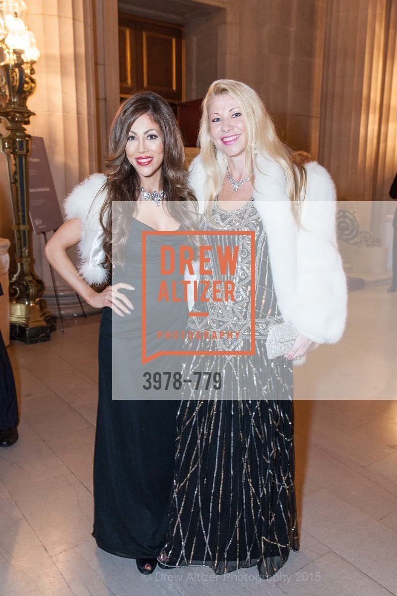 Athena Palombi, Lena Gikkas, San Francisco Ballet 2015 Opening Night Gala, San Francisco City Hall. 1 Dr Carlton B Goodlett Pl, January 22nd, 2015,Drew Altizer, Drew Altizer Photography, full-service event agency, private events, San Francisco photographer, photographer California