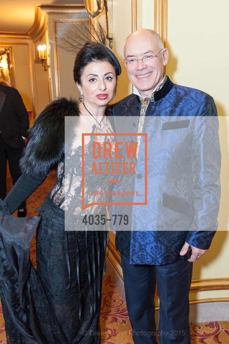 Esmeralda Azan, Alain Azan, San Francisco Ballet 2015 Opening Night Gala, San Francisco City Hall. 1 Dr Carlton B Goodlett Pl, January 22nd, 2015,Drew Altizer, Drew Altizer Photography, full-service event agency, private events, San Francisco photographer, photographer California