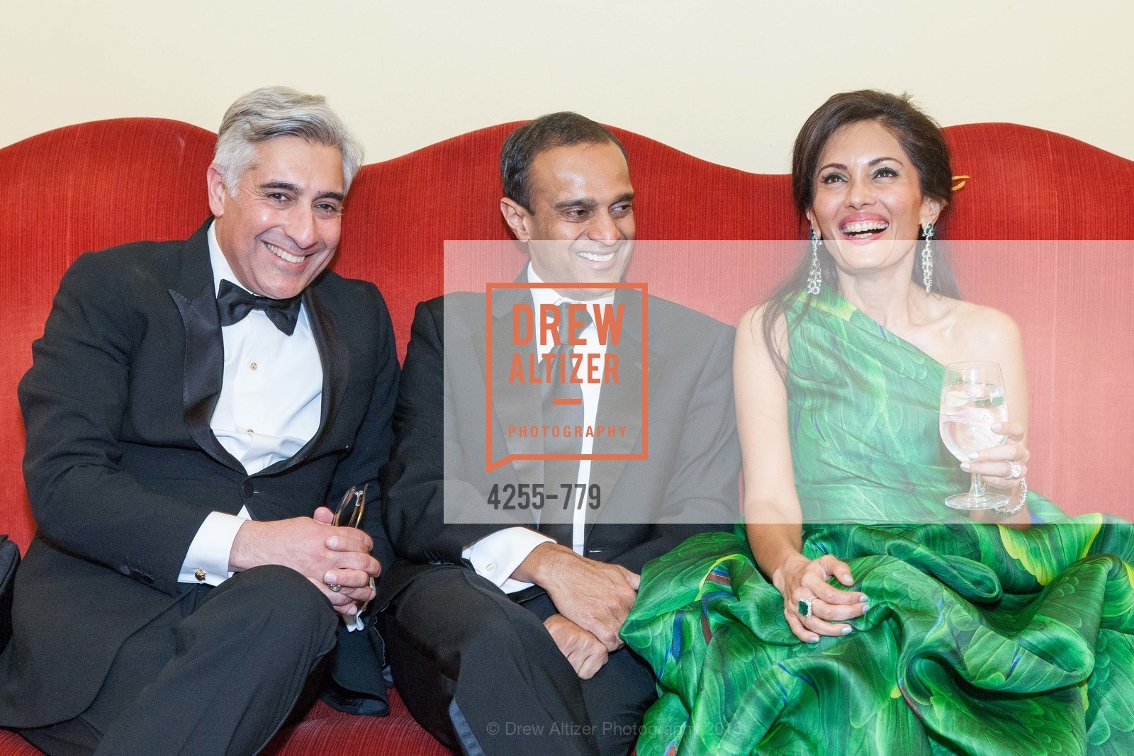 David Shimmon, Gaurav Garg, Komal Shah, San Francisco Ballet 2015 Opening Night Gala, San Francisco City Hall. 1 Dr Carlton B Goodlett Pl, January 22nd, 2015,Drew Altizer, Drew Altizer Photography, full-service agency, private events, San Francisco photographer, photographer california