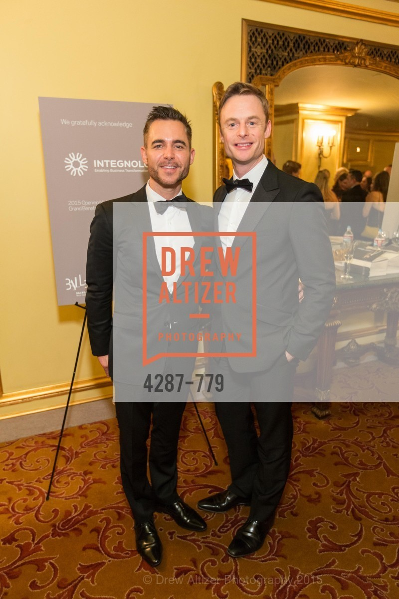 Ross Rayburn, Christopher Wheeldon, San Francisco Ballet 2015 Opening Night Gala, San Francisco City Hall. 1 Dr Carlton B Goodlett Pl, January 22nd, 2015,Drew Altizer, Drew Altizer Photography, full-service agency, private events, San Francisco photographer, photographer california