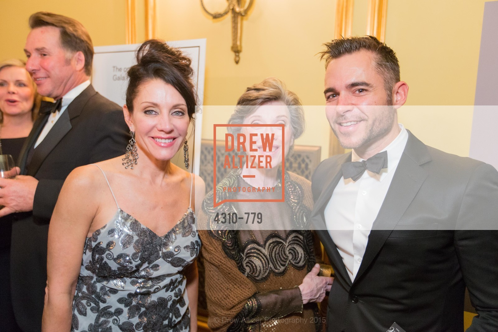 Deborah Taylor, Carole Shorenstein Hays, Ross Rayburn, San Francisco Ballet 2015 Opening Night Gala, San Francisco City Hall. 1 Dr Carlton B Goodlett Pl, January 22nd, 2015,Drew Altizer, Drew Altizer Photography, full-service agency, private events, San Francisco photographer, photographer california