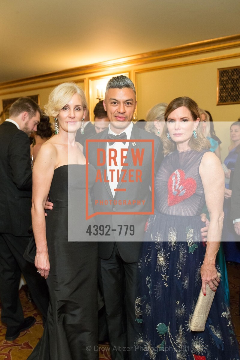 Jennifer Benham, Ted Bolivar, Suzy Kellems Dominik, San Francisco Ballet 2015 Opening Night Gala, San Francisco City Hall. 1 Dr Carlton B Goodlett Pl, January 22nd, 2015,Drew Altizer, Drew Altizer Photography, full-service agency, private events, San Francisco photographer, photographer california