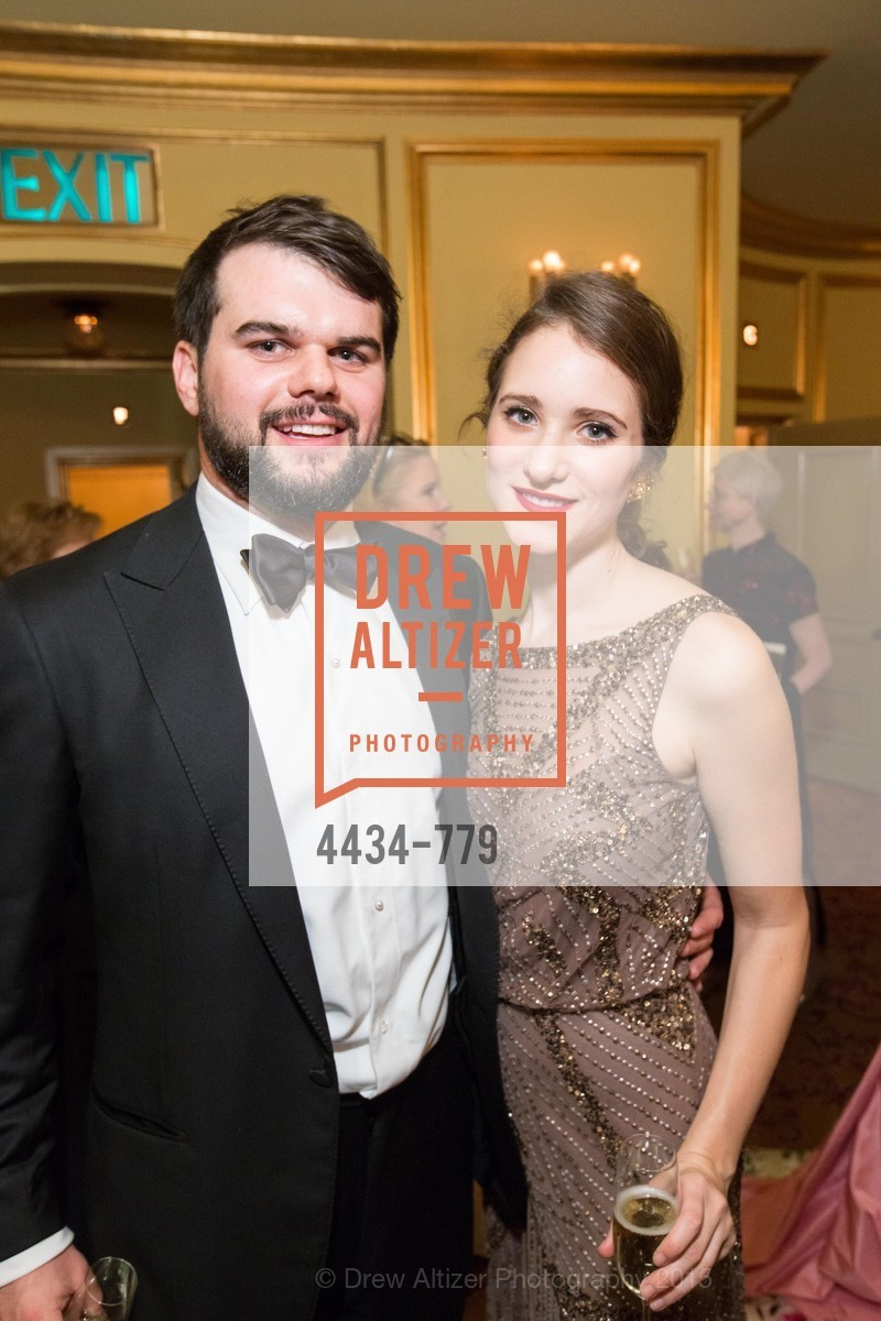 John Fisher, Raphaela Lipinsky, San Francisco Ballet 2015 Opening Night Gala, San Francisco City Hall. 1 Dr Carlton B Goodlett Pl, January 22nd, 2015,Drew Altizer, Drew Altizer Photography, full-service agency, private events, San Francisco photographer, photographer california