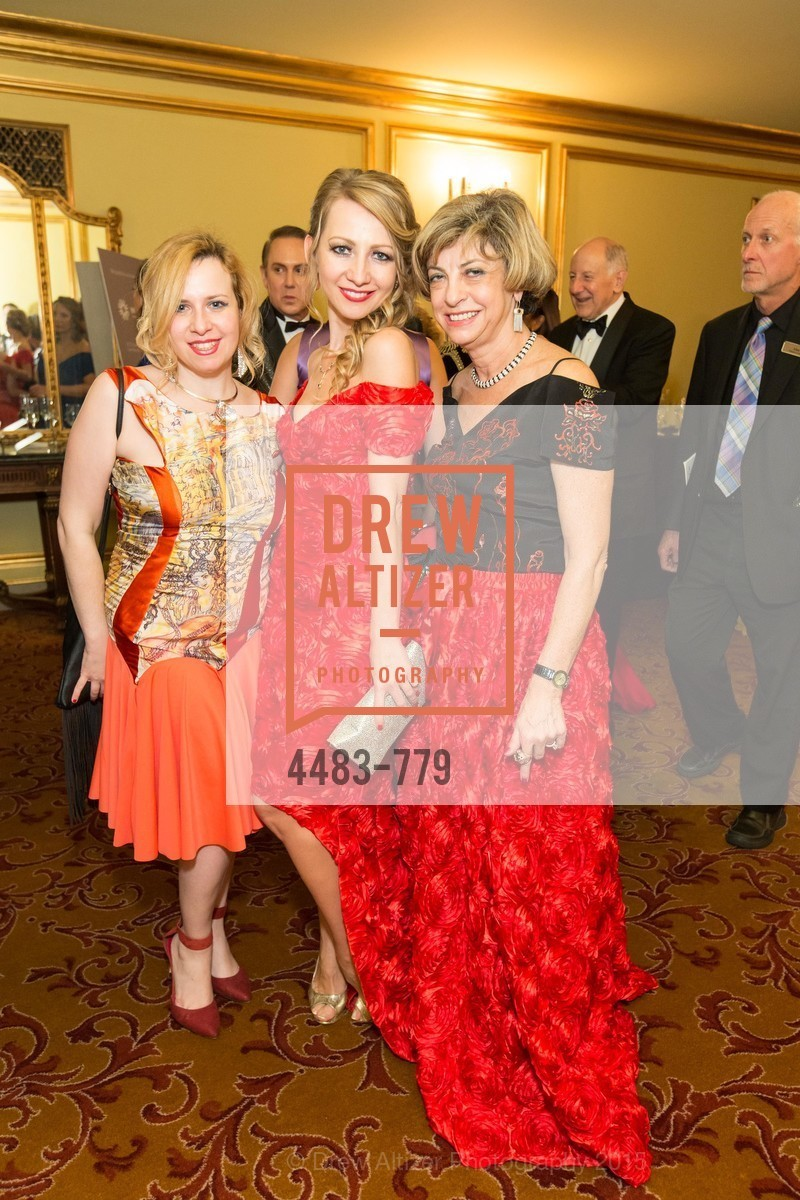 Maria Milovizova, Lana Ricketts, Ludmila Eggleton, San Francisco Ballet 2015 Opening Night Gala, San Francisco City Hall. 1 Dr Carlton B Goodlett Pl, January 22nd, 2015,Drew Altizer, Drew Altizer Photography, full-service agency, private events, San Francisco photographer, photographer california