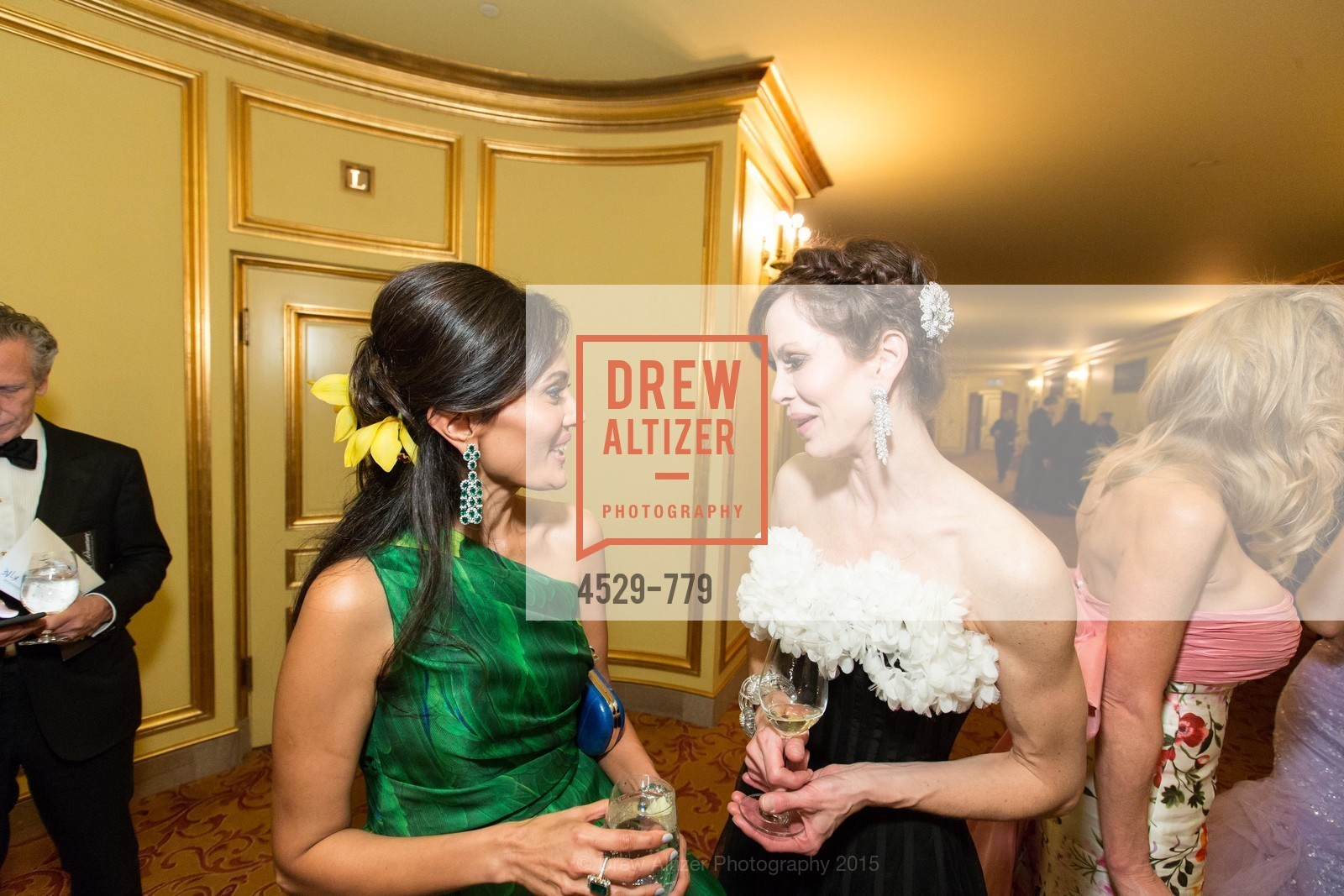 Komal Shah, Stephanie Marver, San Francisco Ballet 2015 Opening Night Gala, San Francisco City Hall. 1 Dr Carlton B Goodlett Pl, January 22nd, 2015,Drew Altizer, Drew Altizer Photography, full-service agency, private events, San Francisco photographer, photographer california