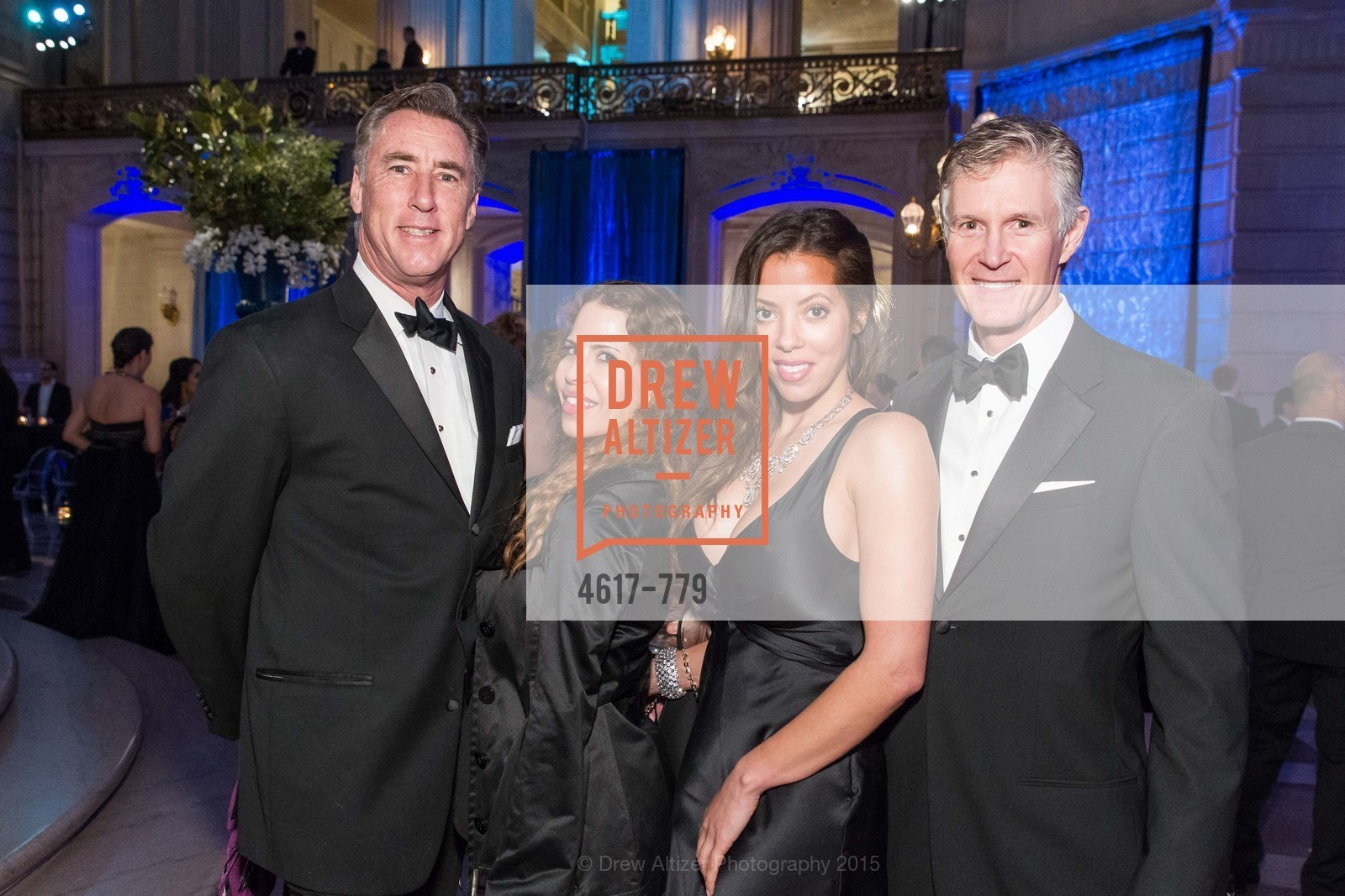 Kevin O'Connor, Damia Foti, Laurie Fitzgerald, Callum Hutchins, San Francisco Ballet 2015 Opening Night Gala, San Francisco City Hall. 1 Dr Carlton B Goodlett Pl, January 22nd, 2015,Drew Altizer, Drew Altizer Photography, full-service agency, private events, San Francisco photographer, photographer california